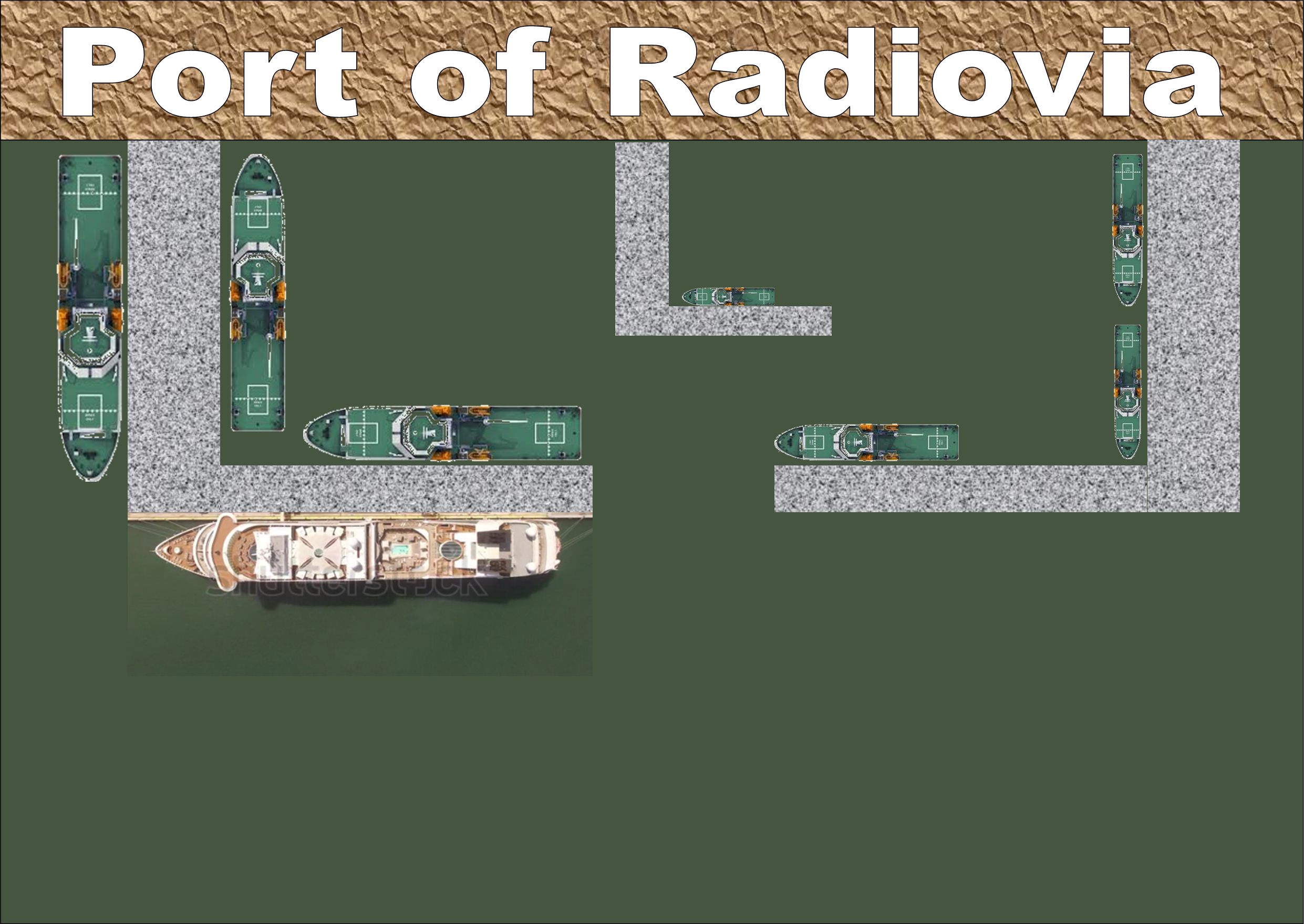 Construction started at the Port of Radiovia
